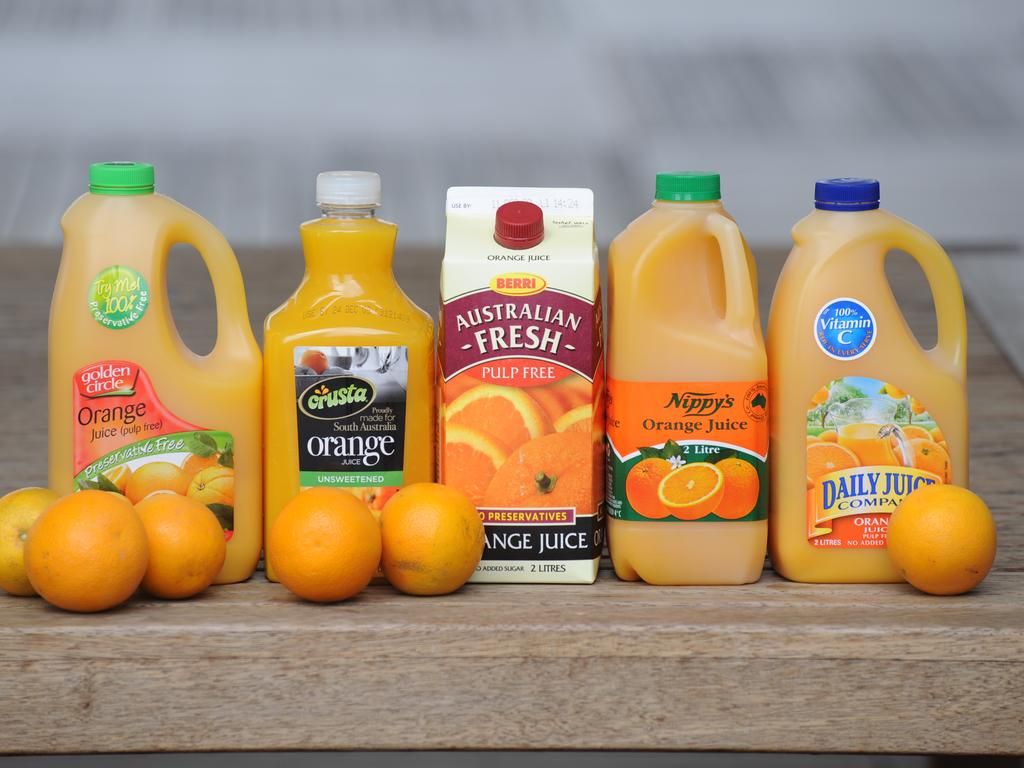 Australian orange juice is facing lower production levels because of the drought.