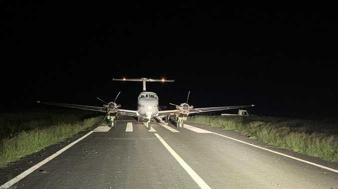 A daring CQ night transfer from the Royal Flying Doctor