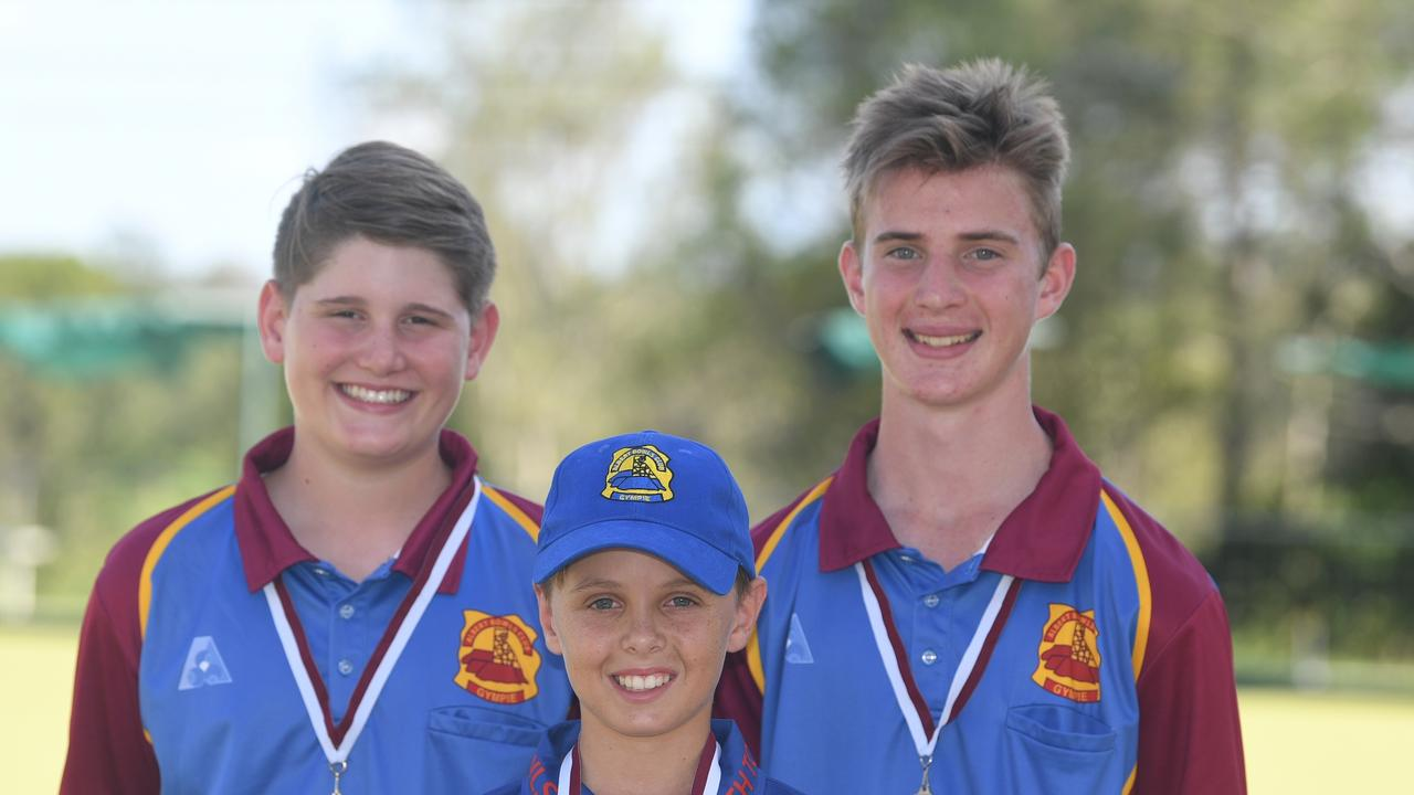 Albert Bowls Club junior competitors who competed at the Queensland Lawn Bowls Juniors State Championship. - Travis Pearce gold medal, Hayden Oster silver medal, Cody Bernard silver medal