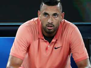 Kyrgios seethes over 'f***ing joke'