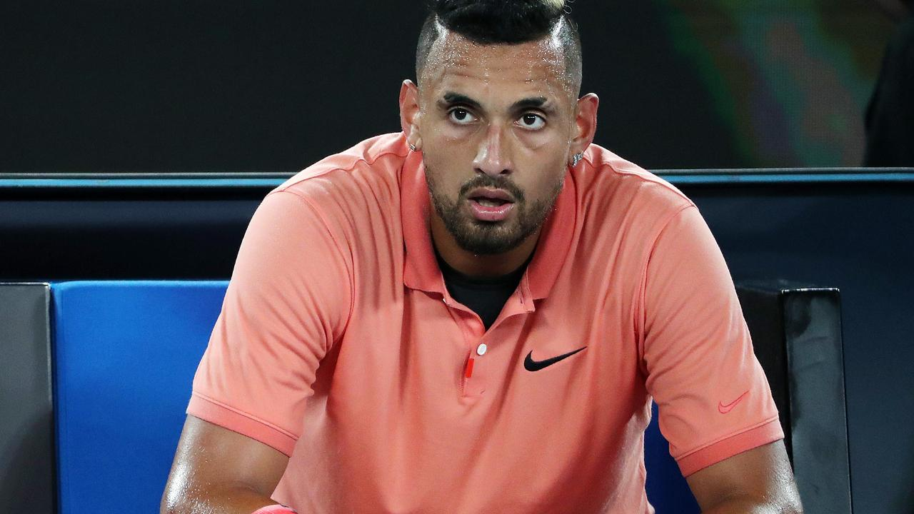Nick Kyrgios has found something else to get angry about.