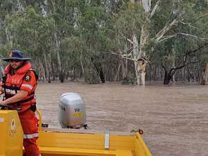 FLOODED WITH SUPPORT: SES comes to aid of western neighbour