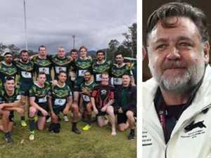 Crowe keeps the bushfire community's footy dream going