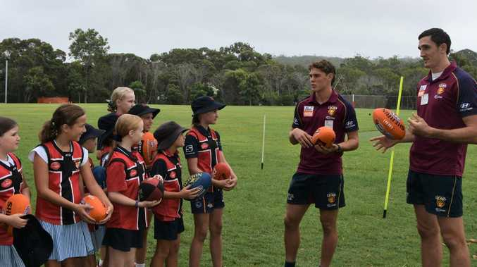 Lions young guns helping AFL fire at Sunshine