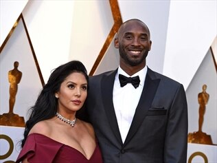 Vanessa Bryant and her late husband, Kobe.