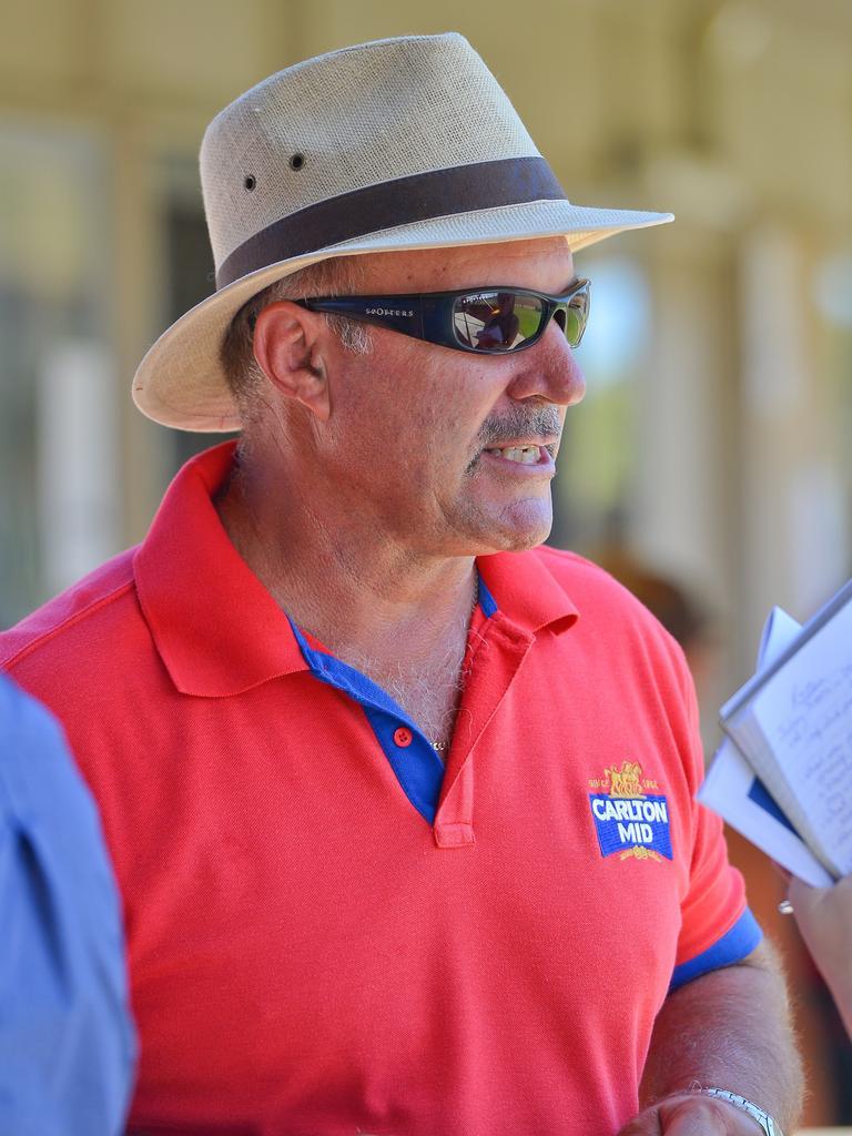 Gladstone Turf Club president David Weinert.