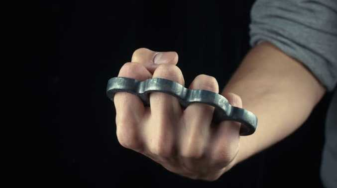 Man caught with knuckle dusters
