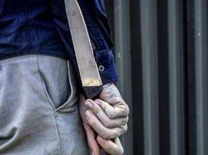 Gympie man jailed for knife attack, DV breach
