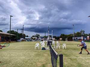 Seniors Tennis Tournament was a smashing success