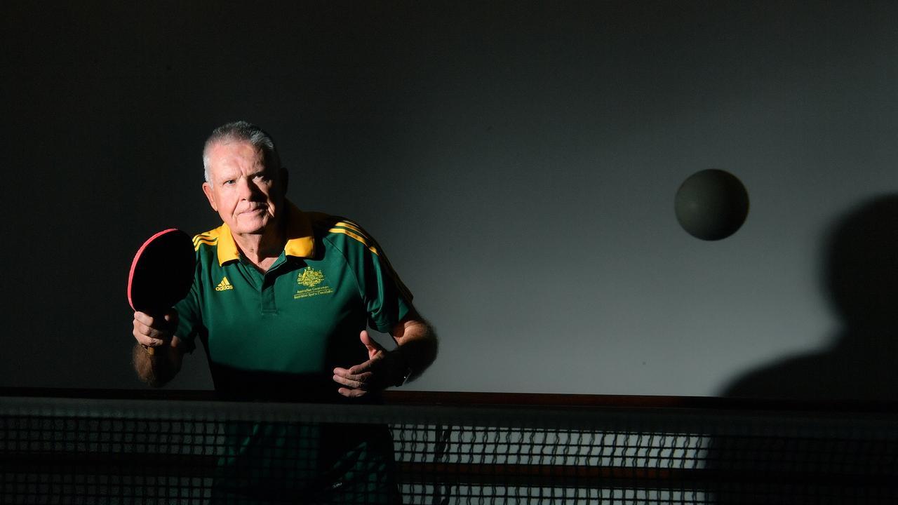 SPORT: Australian table tennis player Ken Hay has started social matches in Nambour. Photo: John McCutcheon