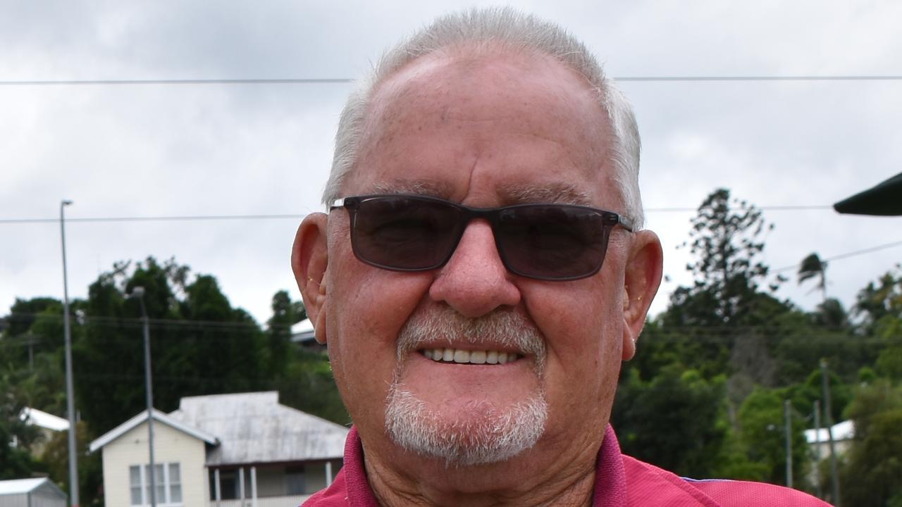 Albert Bowls club president and Fraser Coast District junior coordinator Bob Hill.