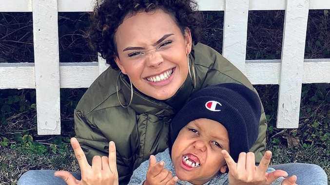 Bullied boy's model sister slams age lie