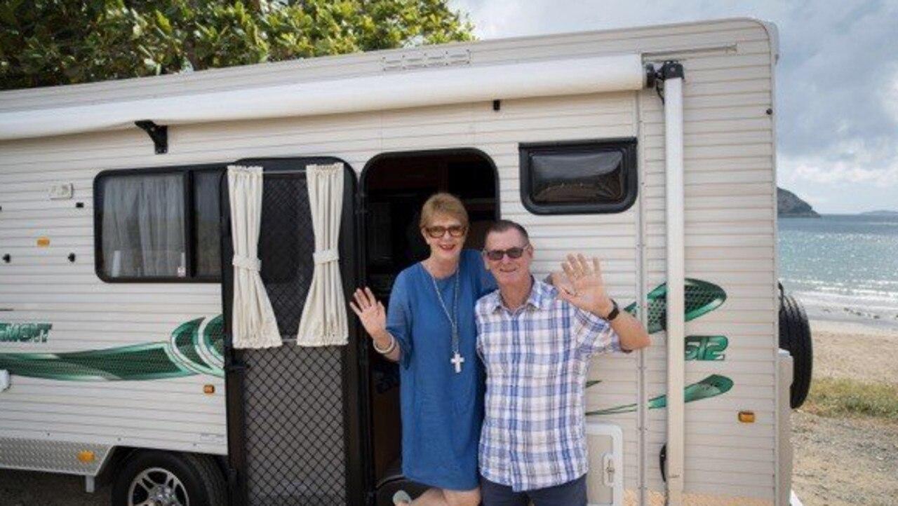 Dews owner Vicki Bastin-Byrne is retiring, heading off on a caravaning adventure with husband Greg.