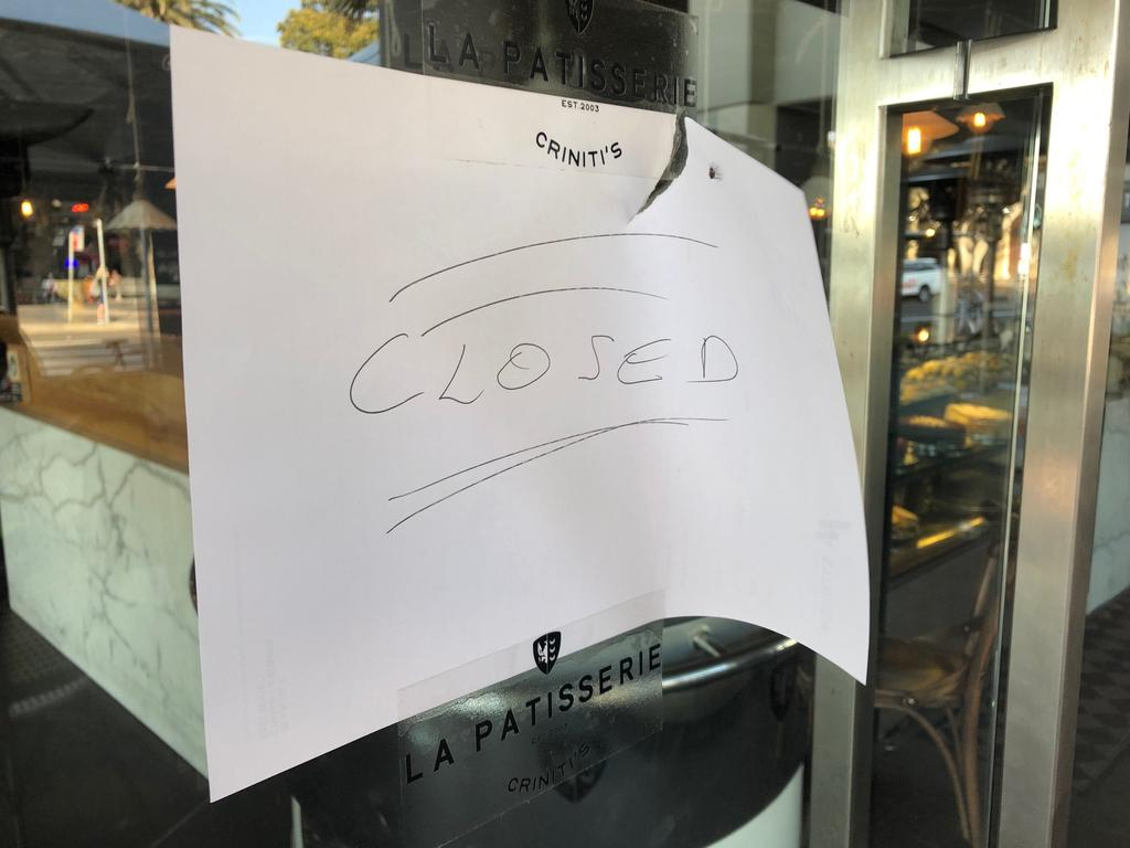 The Criniti's restaurant in Manly has since shut down. Picture: Jim O'Rourke