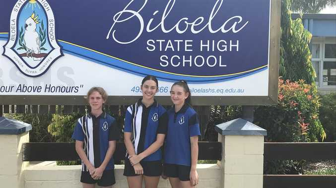 Biloela students take a big leap