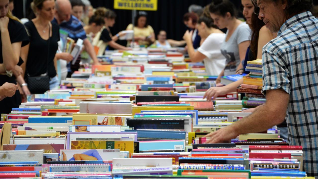 Lifeline's Bookfest in Rockhampton