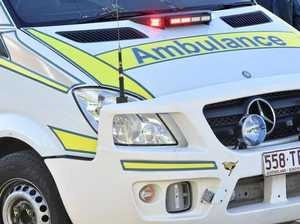 Driver injured after car collision