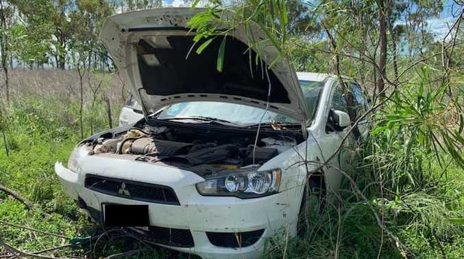 Driver hospitalised after Dallarnil crash