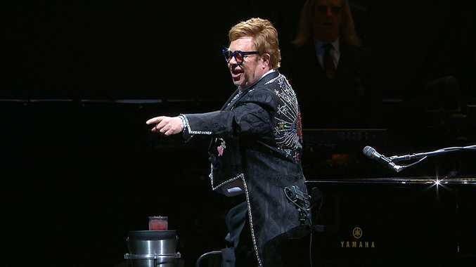 Sir Elton John's crowning glory for Coffs Harbour