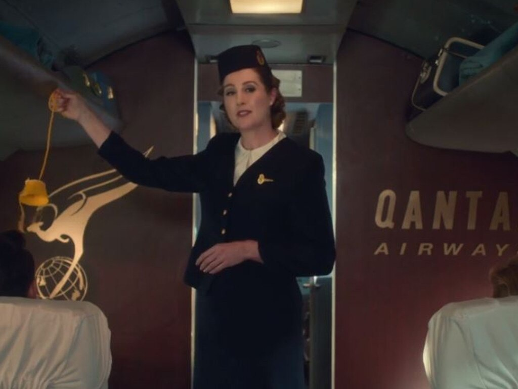 Qantas launches its new in-flight video marking 100 years in the air.