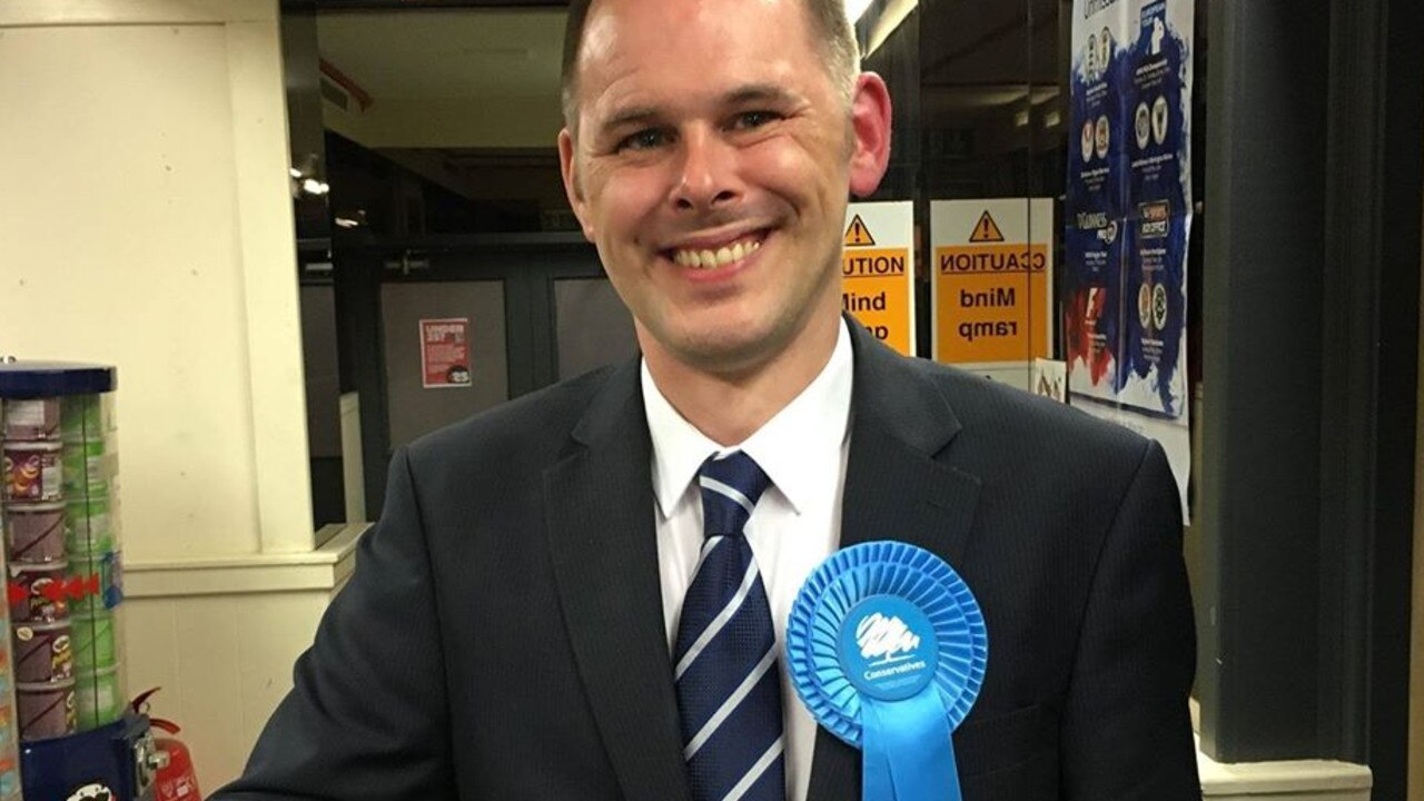 Mr Grundy was elected as MP for Leigh last December. Picture: Facebook/James Grundy, MP for Leigh