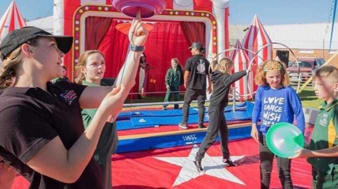 ROLL UP: Circus comes to town, offers lessons