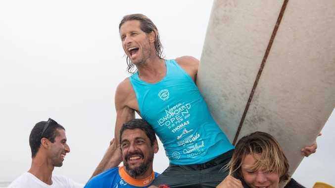 Champions crowned in Noossa longboard open