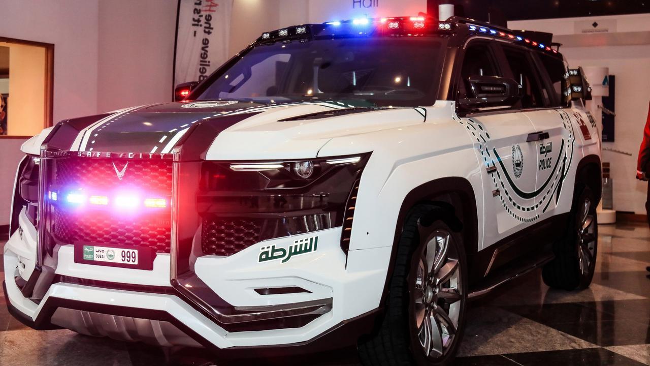W Motors Beast Patrol police car.