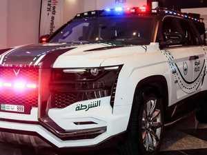 Insane new police car revealed