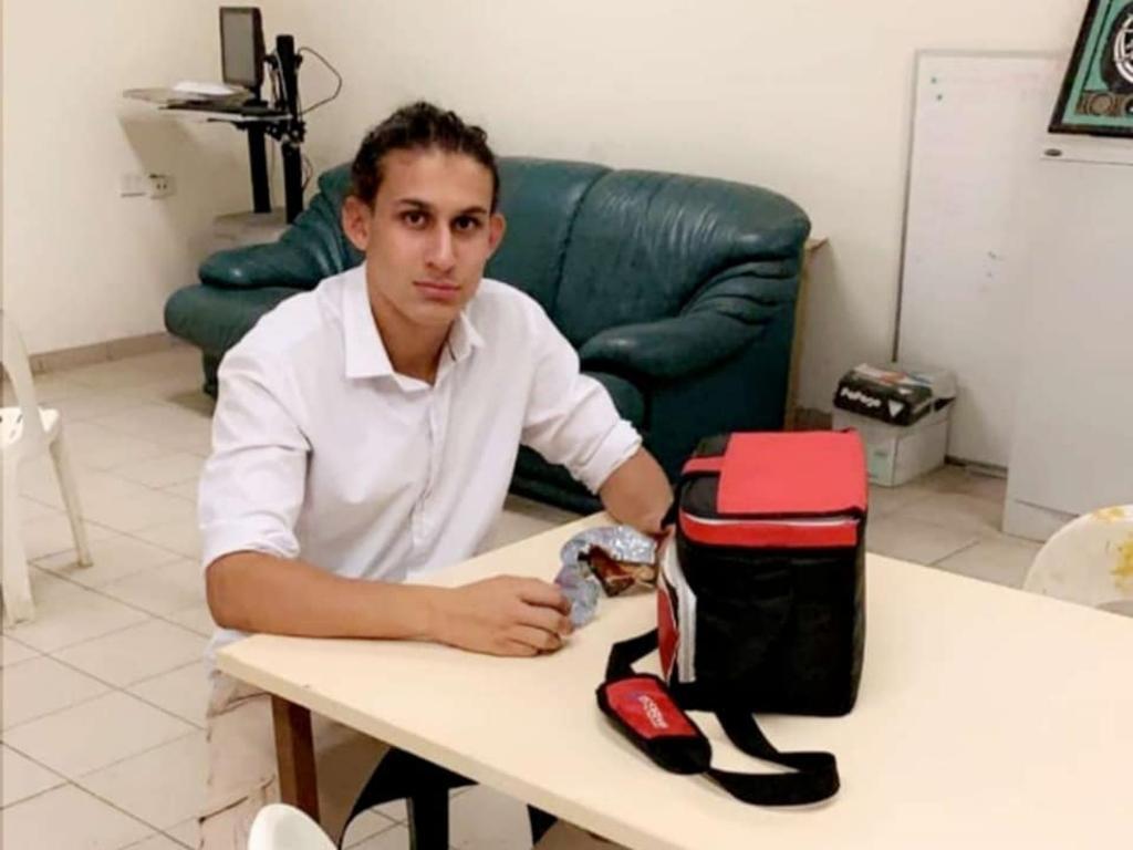 Omar Elomar, 18, was shot dead in a park in Sydney.