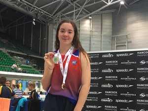 Aqua athletes power to podium