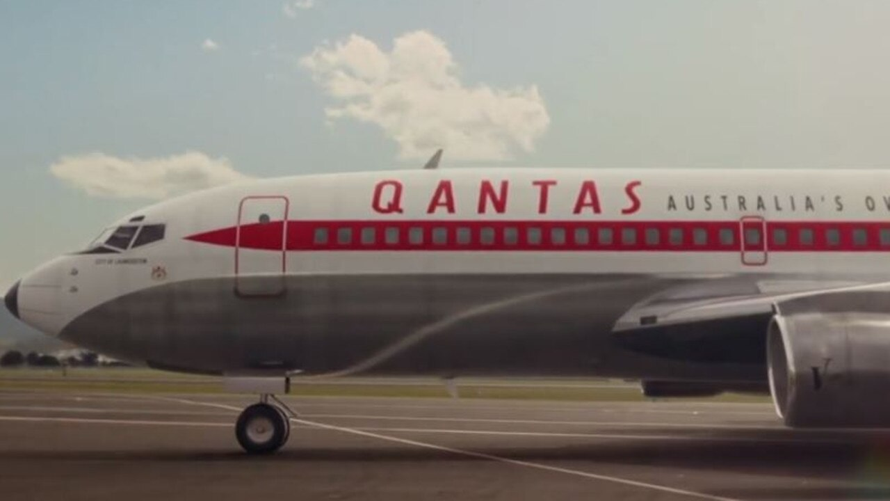 Qantas has launched its new in-flight safety video marking 100 years in the air.