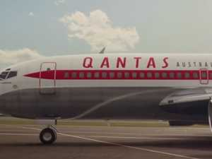 Curious detail in old Qantas photo