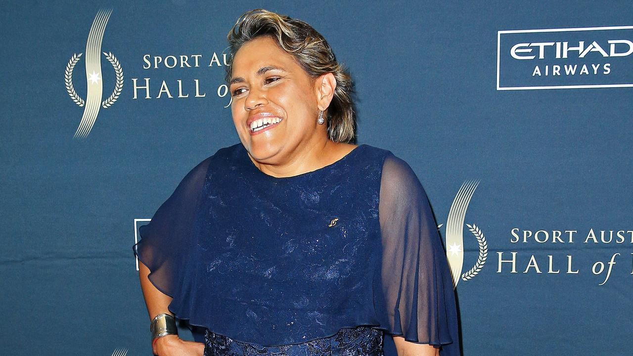 Cathy Freeman at the Sport Australia Hall of Fame. Picture: Mark Stewart