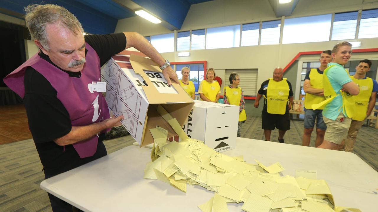 CRUNCH TIME: Counting will begin when booths close on March 28 for the 2020 council elections. Picture Mike Batterham