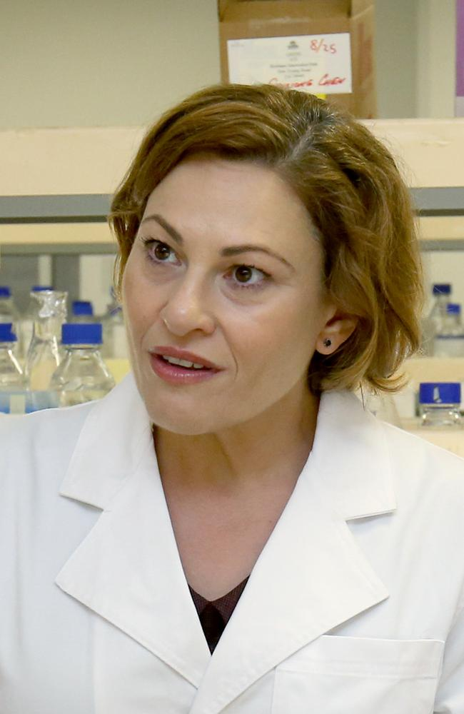 Treasurer Jackie Trad says the state budget may take a $1.7 billion hit because of coronavirus. Picture: Steve Pohlner