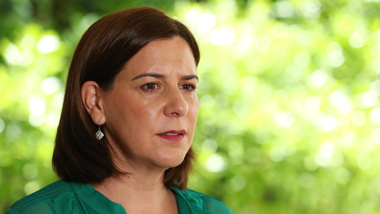 TACKLING VIOLENCE: LNP Leader and Member for Nanango Deb Frecklington has announced a range of important new measures to strengthen Queensland's domestic violence strategy.