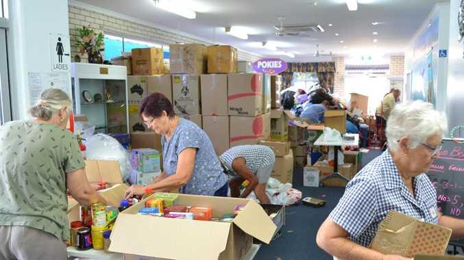 Groups unite to send massive bushfire donation down south