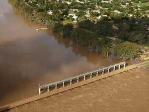 Peak fears as Balonne River rages towards 12m danger zone