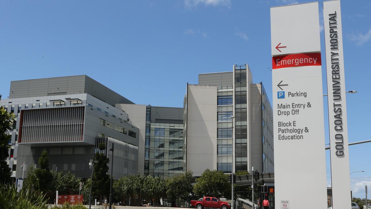 Gold Coast University Hospital. Picture Glenn Hampson