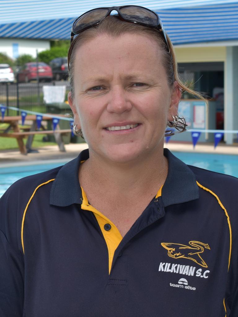 Kilkivan Stingrays Swimming Club coach Krystle Power. Photo: Bec Singh