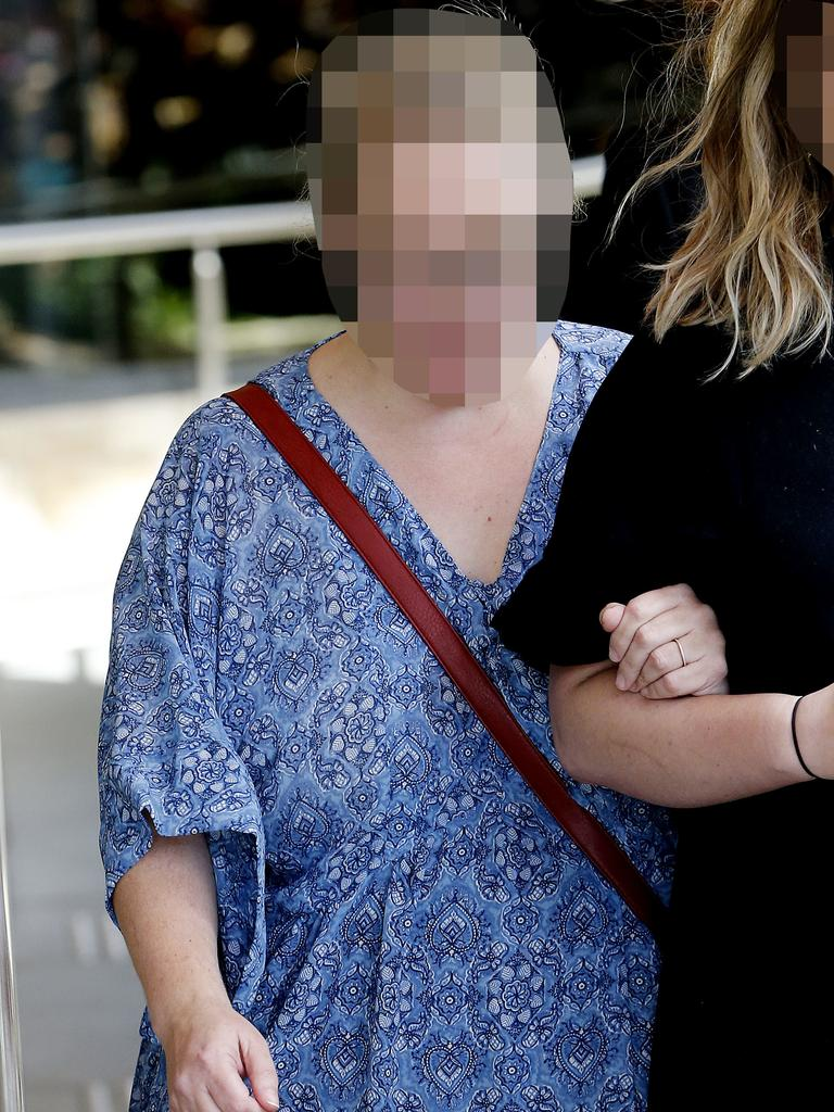 A high number of bugs were found in the blood of a young, sick girl after her mother (pictured) allegedly injected her with urine, a trial has been told. Picture: AAP Image/Darren Pateman