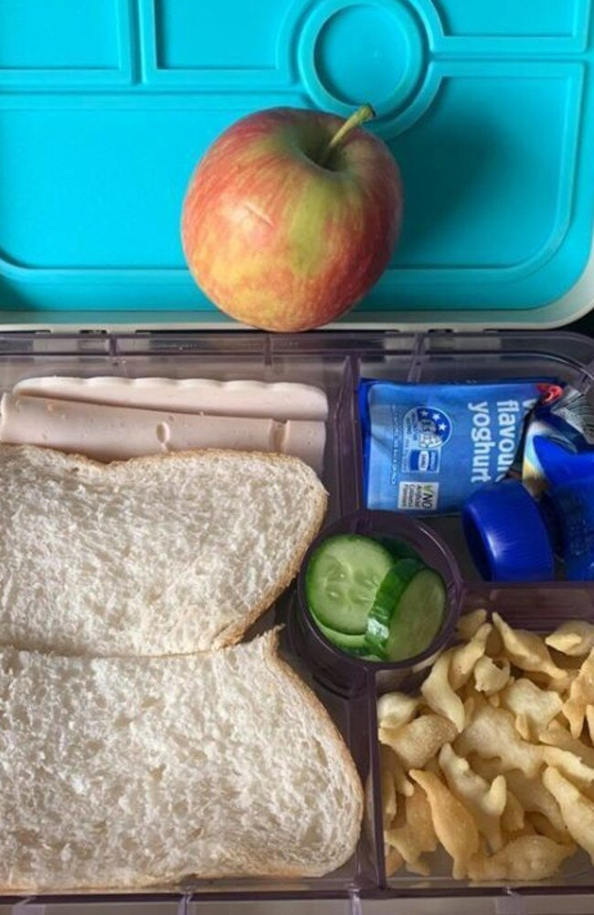 Mums on the Facebook post said she was shocked others had been so quick to judge. Picture: Facebook/Lunchbox mums