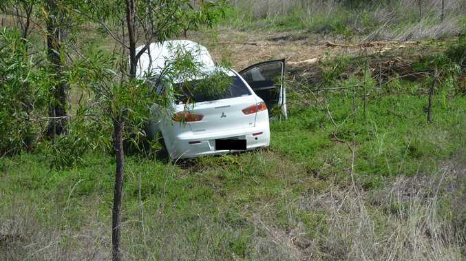PHOTOS: Driver veers off road in Dallarnil crash