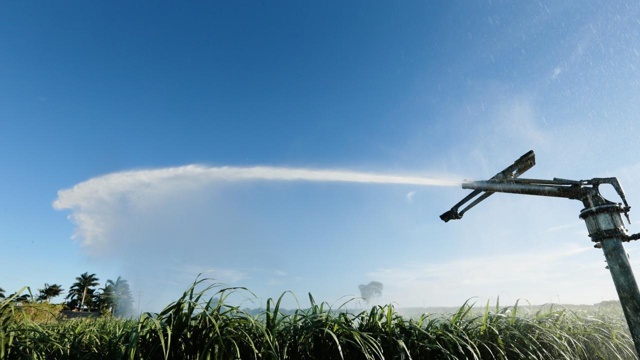 Water Irrigation in the Bundaberg area. Picture: Lachie Millard