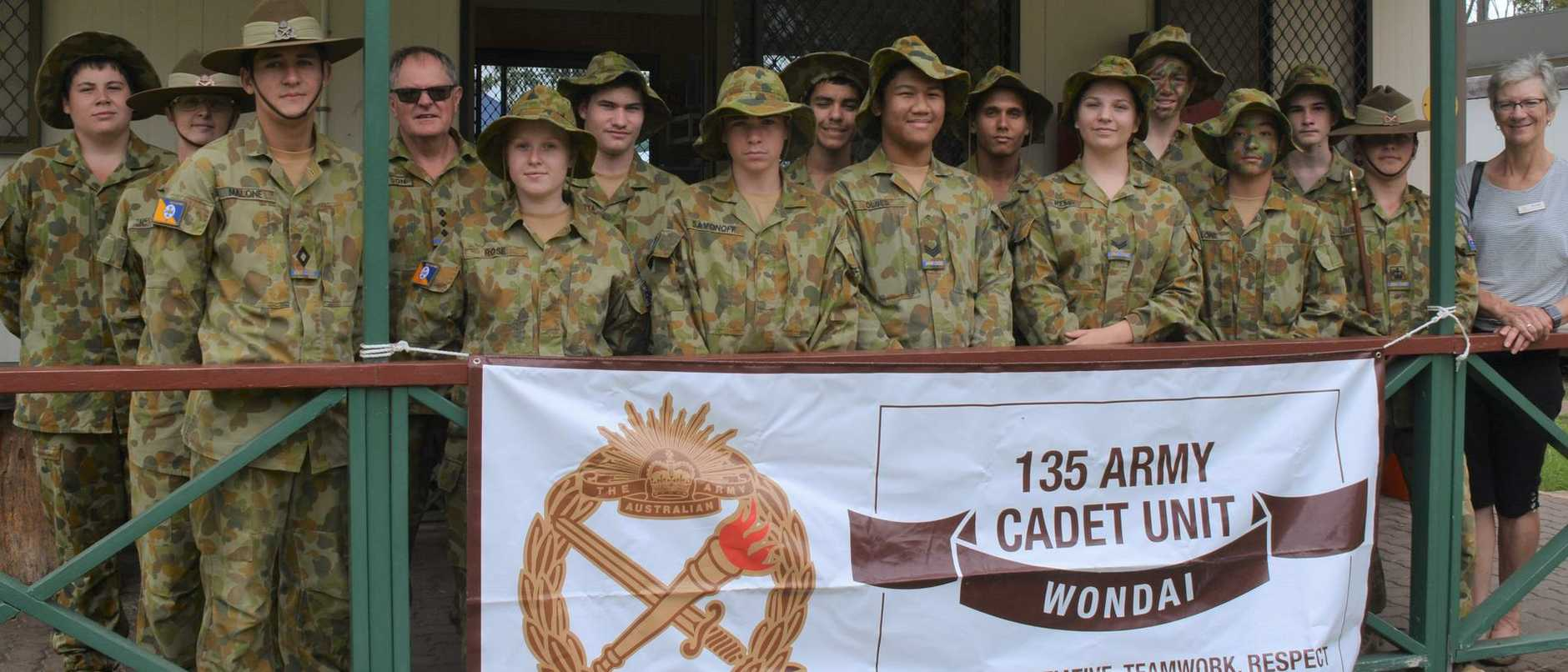 The 135 Army Cadet Unit from Wondai at their open day on Sunday, February 23, 2020.