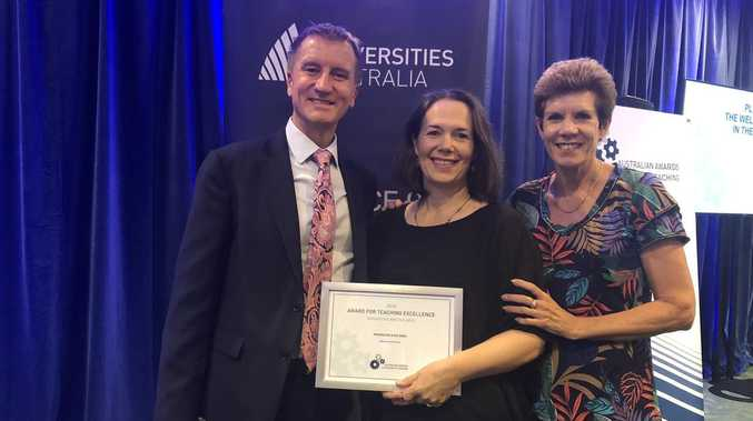 CQ professor nationally recognised for teaching excellence