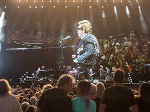 A-lister joins the crowd at Elton John's Coffs concert