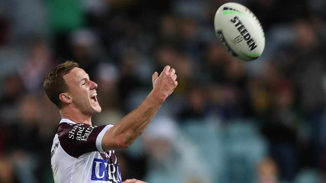 It can only be good news for Manly's season. Photo: Brett Costello