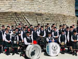 To Russia with love: Thistle pipe band's international reach